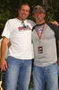 Radio DJ's Southside Steve and Axle from Atlanta's 96 Rock.<br />  They were not at the Football game, I took this at another event.