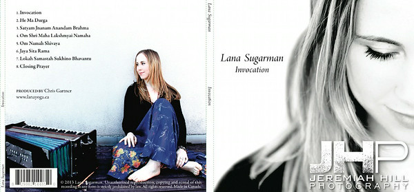 "Album Cover Art: Lana Sugarman, 'Invocation."" All Photography."