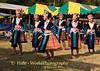 Hmong Maidens Dancing, Khmu New Year Festival, Luang Prabang, Laos