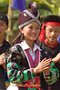Hmong Dancer at Khmu New Year Festival in Pack Paid village, Laos