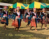 Hmong Women dancing at New Year Festival, Luang Prabang, Laos