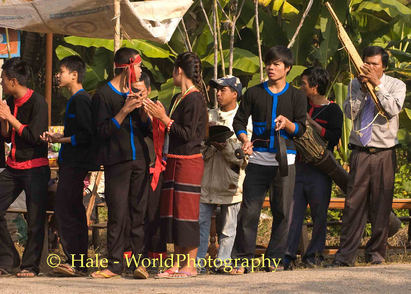 Welcome to Khmu New Year Festival, Pack Paid Village, Laos