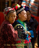 Elderly Hmong Women at New Year Festival in Luang Prabang, Laos