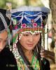 Pov Pob Player at Hmong New Year Festival, Luang Prabang, Laos