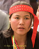 Young Khmu Woman at New Year Festival in Pack Paid Village, Laos