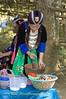 Young Hmong Maiden Preparing Pauk-Pauk, Luang Prabang, Laos