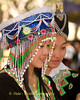 Pov Pob Player at Hmong New Year Festival, Luang Prabang, Laos