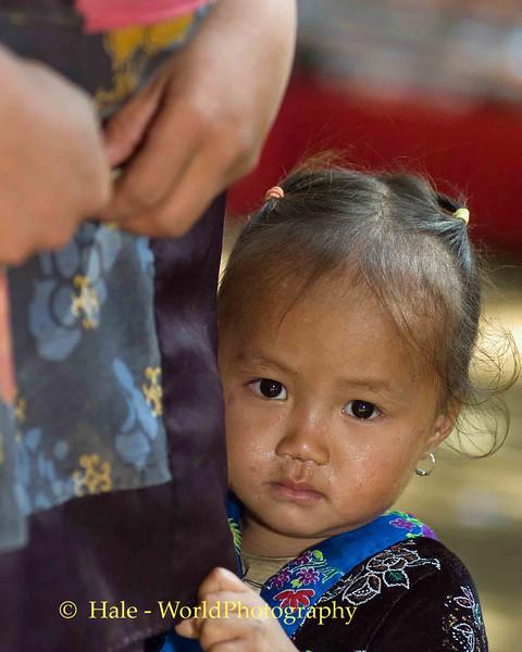 Suspicious Mind at Hmong New Year Festival in Luang Prabang, Laos