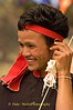 Young Khmu Man at New Year Festival in Pack Paid Village, Laos