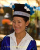 Hmong Woman at New Year Festival, Luang Prabang, Laos