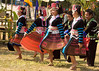 Hmong Dancers at Khmu Village New Year Festival, Pack Paid Village, Laos