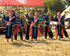 Hmong Youths Dancing, Khmu New Year Festival, Luang Prabang, Laos