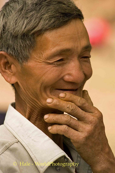 The Old Khmu Soldier, Pack Paid Village, Laos