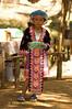 Adolescent Girl at Hmong New Year Festival, Luang Prabang, Laos
