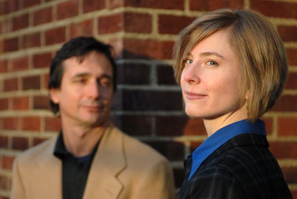 Lara and Dan and Pooch