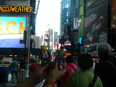 No visit to NYC is complete without stopping in at Time Square.