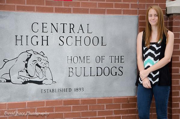 Lauren by front school sign-163