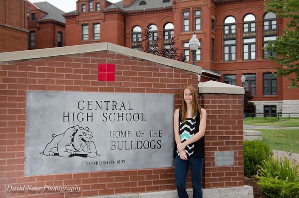 Lauren by front school sign-162