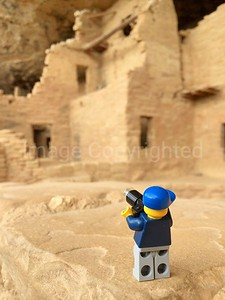 Lego photographer - Spruce tree house cliff dwellings