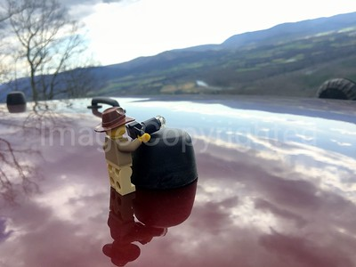 Lego scenic reflection
