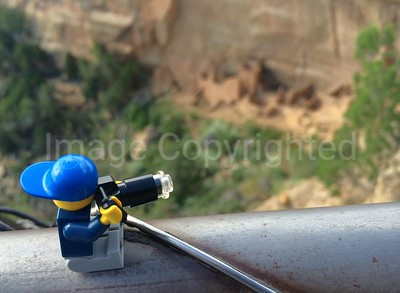 Lego photographer - Square tower house cliff dwellings