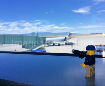 Lego photographer at Albuquerque sun port International airport