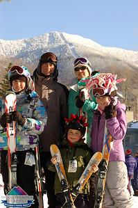 Liang/Matias Family - Feb.21st at Smugglers Notch