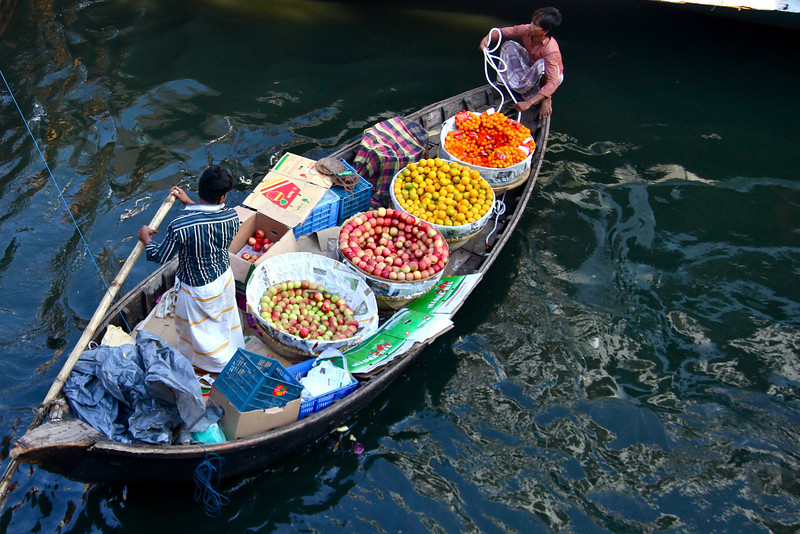 Mobile Shop in a Boat