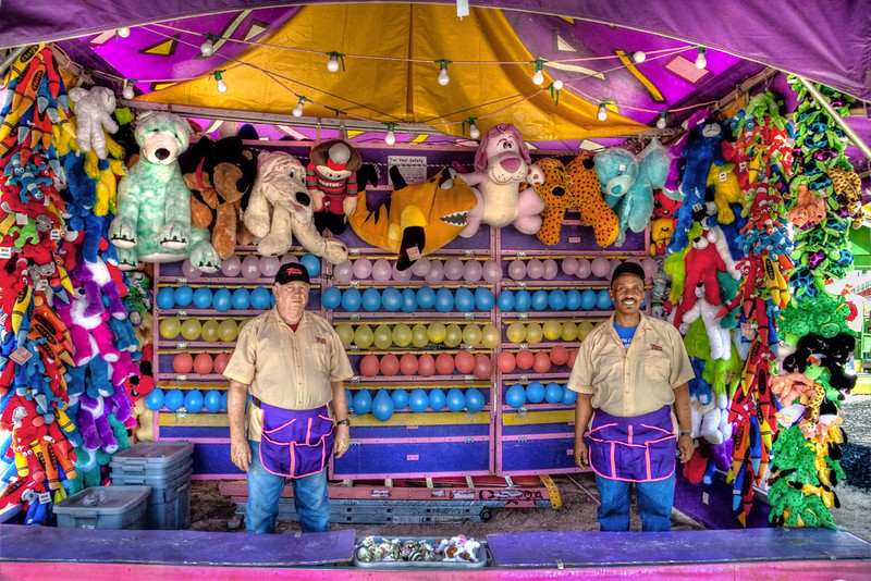 Midway carnival game