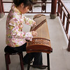 Playing the Guzheng
