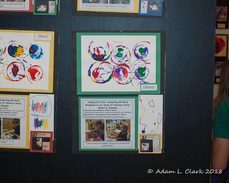 Liliana's abstract art