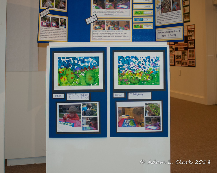 Liliana's Monet painting (on the right)
