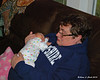 Grandma holds Liliana
