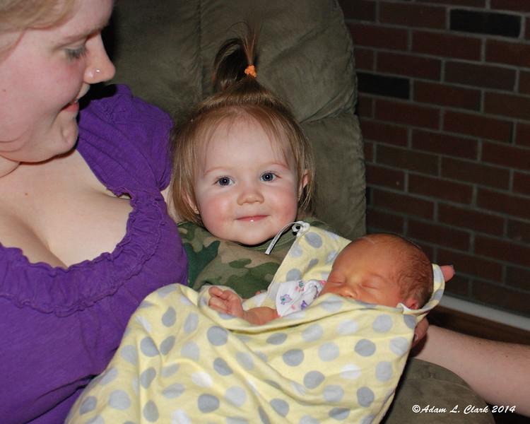 Two happy little cousins