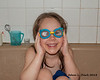 2018.12.09<br> Wearing swimming goggles while taking a bath