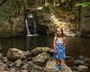 2018.06.16<br> Liliana and I took a walk up the old road so that I could show her Beaver Brook Falls in Keene