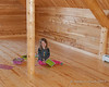 2019.02.10<br> Liliana playing in the loft at Grammy and Grampy's new house