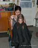 2019.01.31<br> Liliana getting a haircut