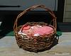 A gift basket left on our doorstep