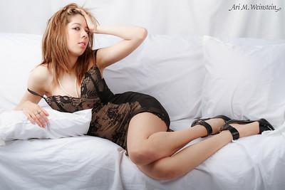 Model, Styling, Hair & Makeup: Lina