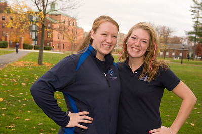 Westfield State University students, and sisters, Lindsey and Casey Howe