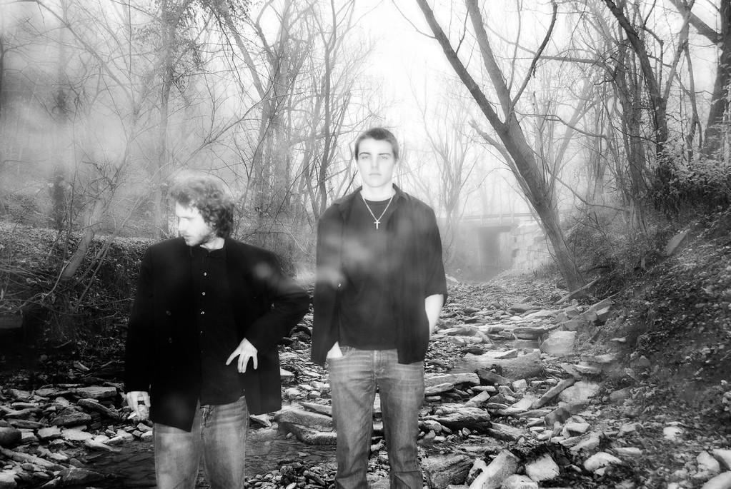 It's Only a Dream... Matt Cummins and Jordan DeSalvo of the Little Rebel Band.