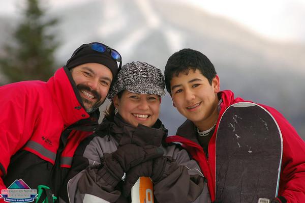 Lopez/Hermandez Family @ Smugglers' Notch Resort