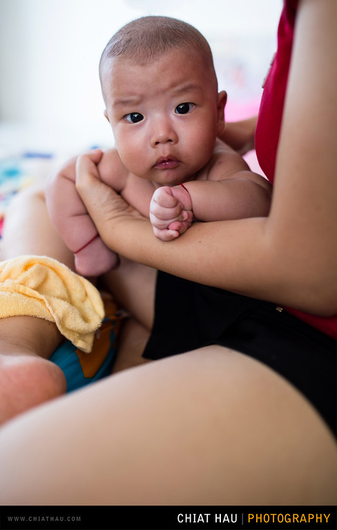 Baby Portrait by Chiat Hau Photography (LUCAS in 3 Months)