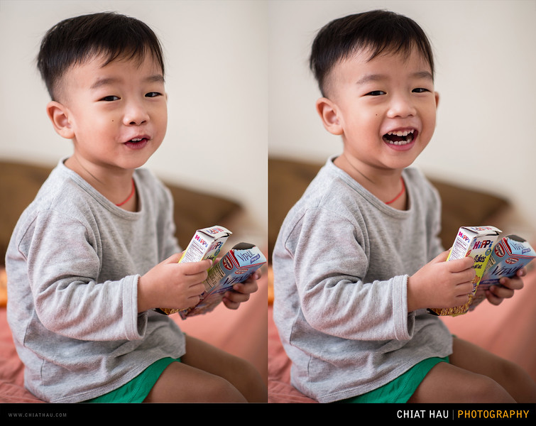 Portrait Photography by Chiat Hau Photography(Lucas and Friends at 33 Months)