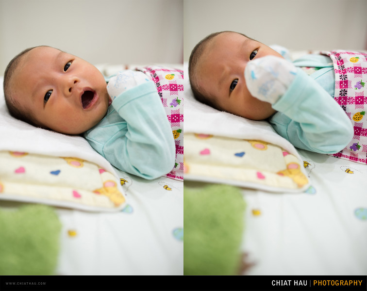Newborn Photography by Chiat Hau Photography (Lucas - Full Moon Ceremony)