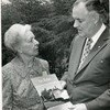 Lucille McWane Watson with Virginia Governor Mills Godwin (4074)
