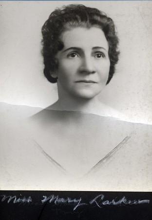 Miss Mary Larkin (07244)