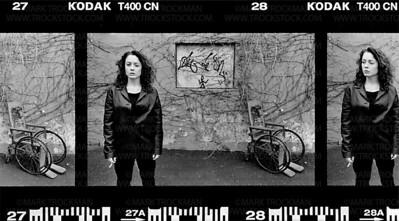 Author Marya Hornbacher • Minneapolis, Minnesota • 1999.