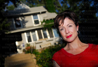 Author Marya Hornbacher & Mouse House • Minneapolis, Minn. • 2008
